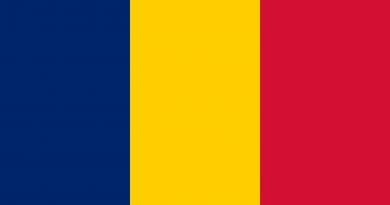 Çad Cumhuriyeti Bayrağı