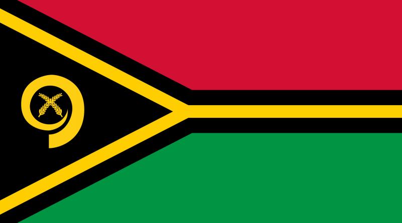 Vanuatu Bayrağı