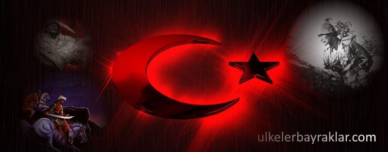 Muhteşem Türk bayrağı