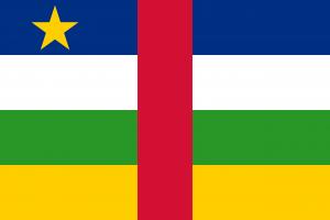 Orta Afrika Cumhuriyeti  Bayrağı