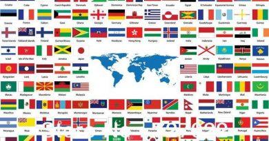 Bayrağında Kırmızı Renk Bulunan Ülkeler